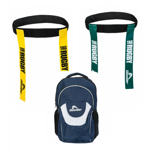 [P.1.RT10] Pack RUGBY TAG 10 + MOCHILA